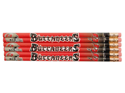 Tampa Bay Buccaneers 6-pack Pencils
