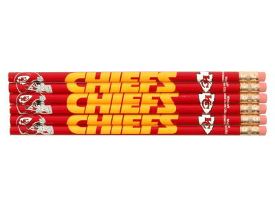 Kansas City Chiefs 6-pack Pencils
