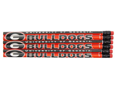 Georgia Bulldogs 6-pack Pencils