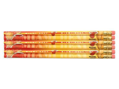 Miami Heat 6-pack Pencils