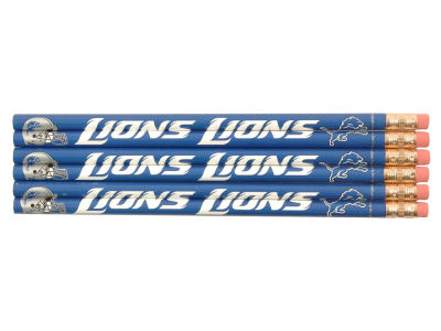 Detroit Lions 6-pack Pencils