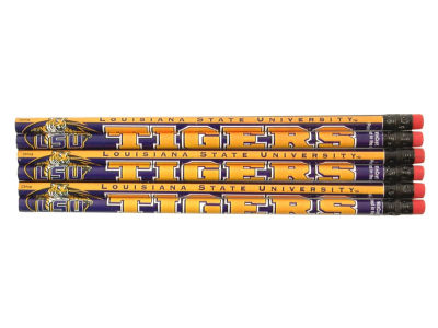 LSU Tigers 6-pack Pencils