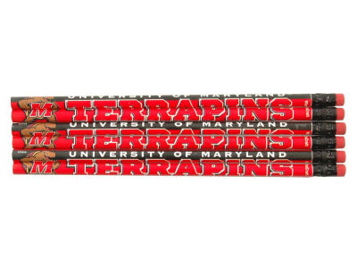 Maryland Terrapins 6-pack Pencils