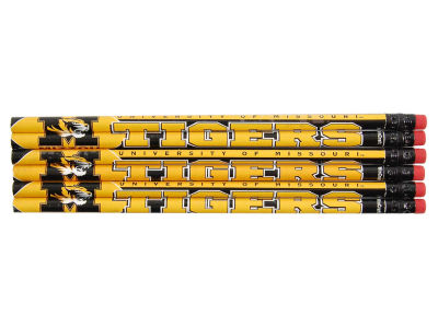 Missouri Tigers 6-pack Pencils