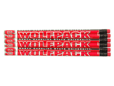 North Carolina State Wolfpack 6-pack Pencils