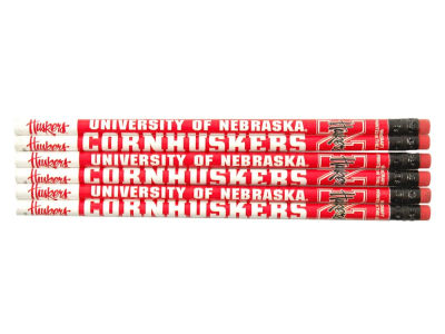 Nebraska Cornhuskers 6-pack Pencils
