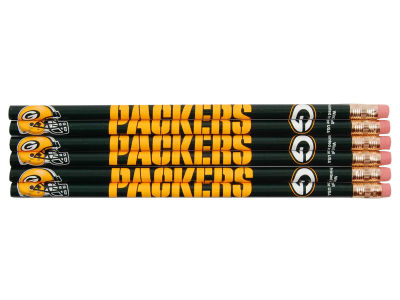 Green Bay Packers 6-pack Pencils
