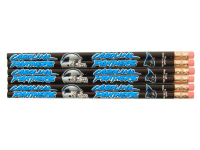 Carolina Panthers 6-pack Pencils