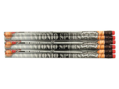 San Antonio Spurs 6-pack Pencils