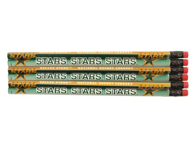 Dallas Stars 6-pack Pencils