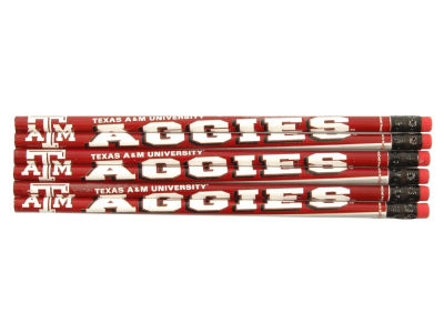 Texas A&M Aggies 6-pack Pencils