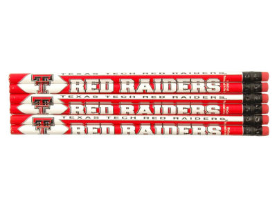 Texas Tech Red Raiders 6-pack Pencils