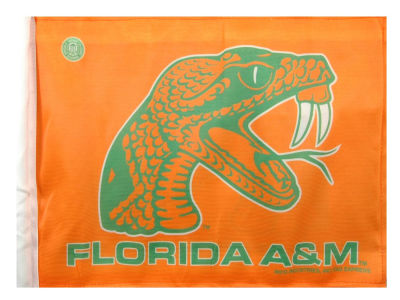 Florida A&M Rattlers Car Flag