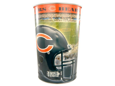 Chicago Bears Trashcan