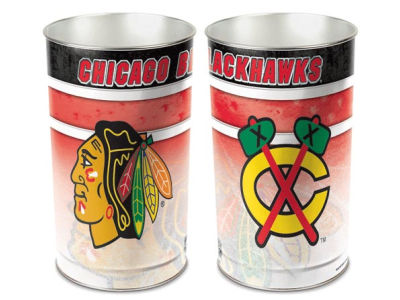 Chicago Blackhawks Trashcan
