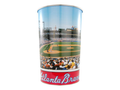 Atlanta Braves Trashcan