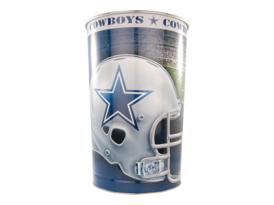 Dallas Cowboys Trashcan