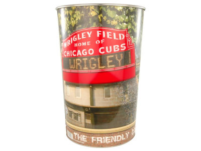 Chicago Cubs Trashcan