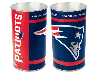 New England Patriots Trashcan