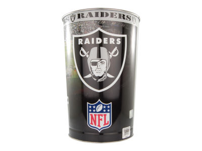 Oakland Raiders Trashcan