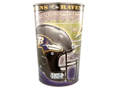 Baltimore Ravens Trashcan