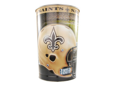 New Orleans Saints Trashcan