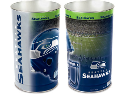 Seattle Seahawks Trashcan