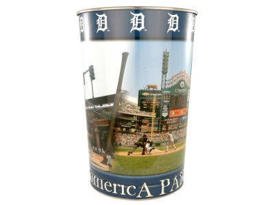 Detroit Tigers Trashcan