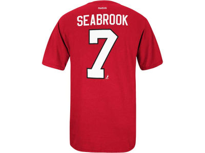 Chicago Blackhawks Brent Seabrook Reebok NHL Men's Player T-Shirt