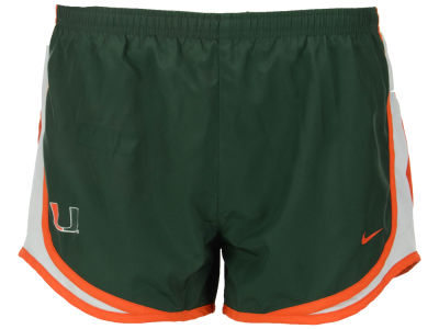 Miami Hurricanes Nike NCAA Women's Tempo Shorts