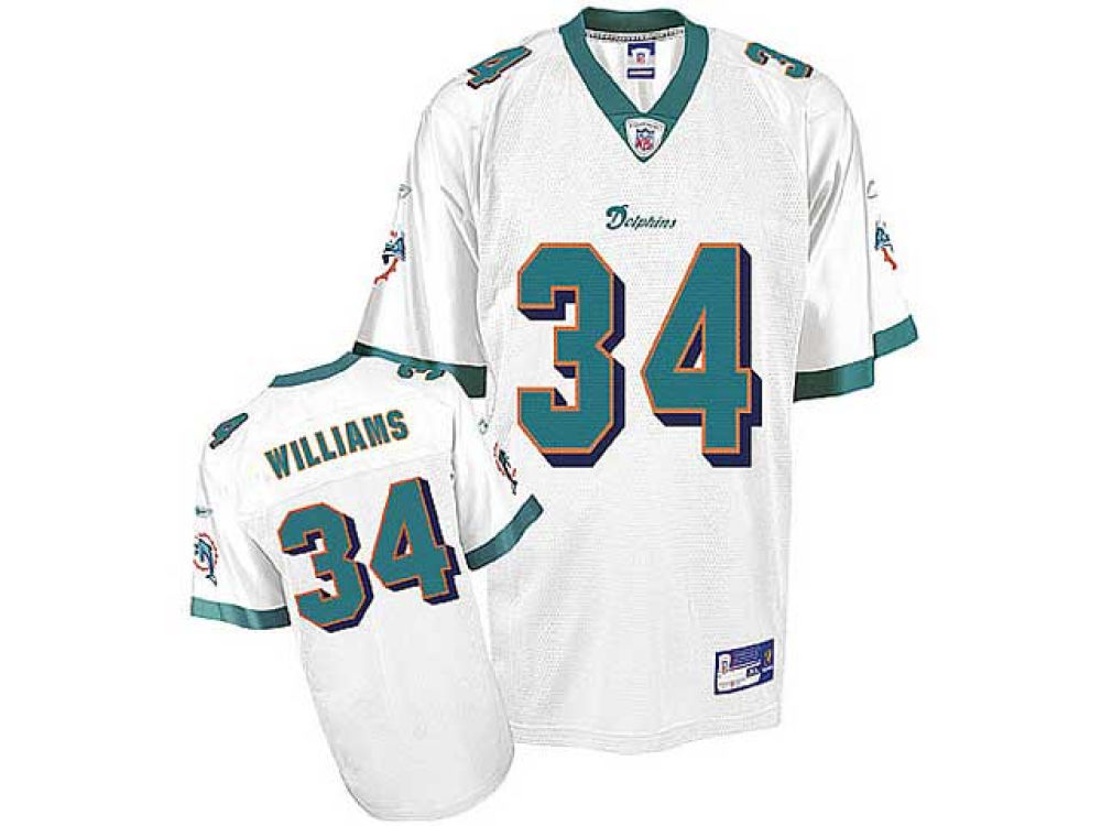 Miami Dolphins Ricky Williams Reebok NFL Youth Replica Jersey  8e9155216