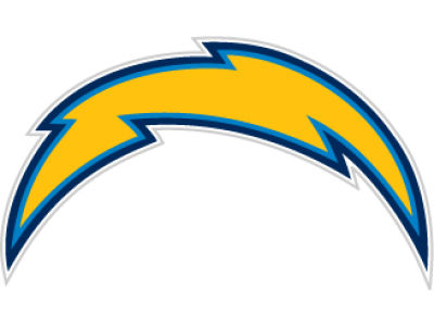 San Diego Chargers 12in Car Magnet