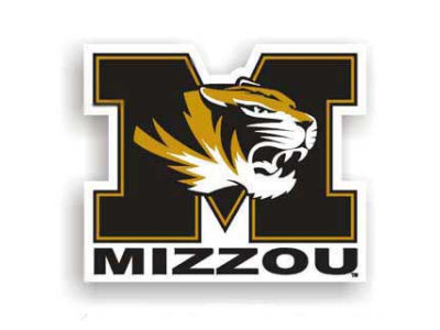 Missouri Tigers 12in Car Magnet