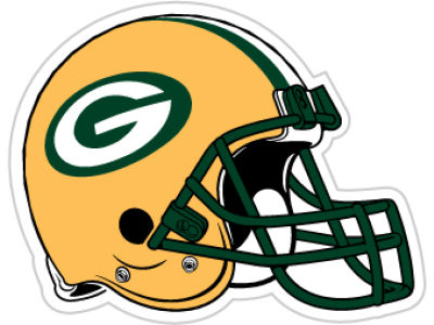 Green Bay Packers 12in Car Magnet