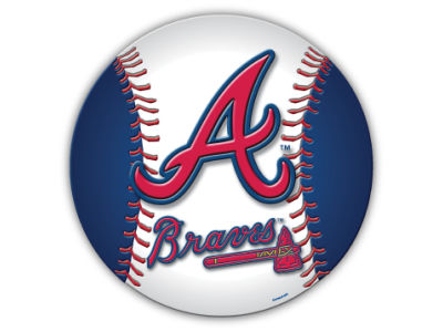 Atlanta Braves 8in Car Magnet