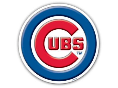 Chicago Cubs 8in Car Magnet