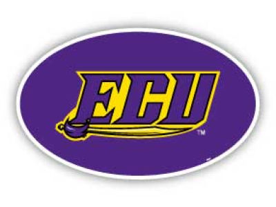 East Carolina Pirates 8in Car Magnet