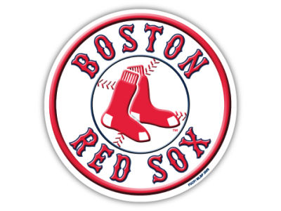 Boston Red Sox 8in Car Magnet