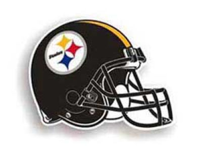 Pittsburgh Steelers 8in Car Magnet