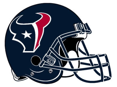 Houston Texans 8in Car Magnet