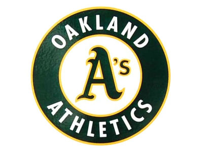 Oakland Athletics Static Cling Decal