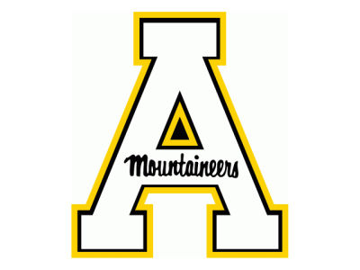Appalachian State Mountaineers Static Cling Decal