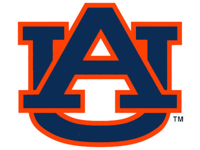 Auburn Tigers Static Cling Decal