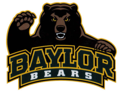Baylor Bears Static Cling Decal
