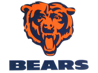 Chicago Bears Static Cling Decal