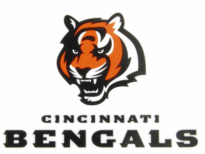 Cincinnati Bengals Static Cling Decal