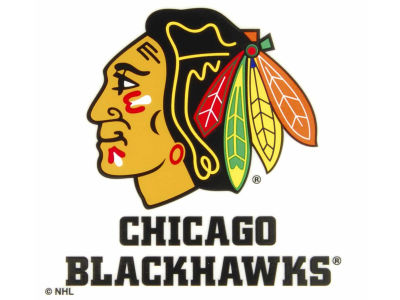 Chicago Blackhawks Static Cling Decal