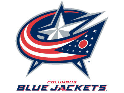 Columbus Blue Jackets Static Cling Decal