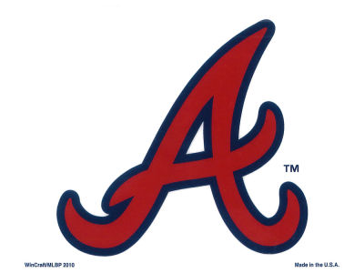 Atlanta Braves Static Cling Decal