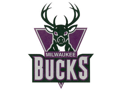 Milwaukee Bucks Static Cling Decal